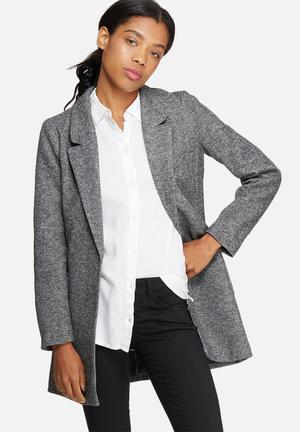 ONLY Baker Long Blazer Jackets Grey