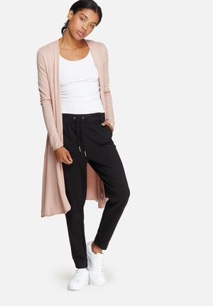 ONLY Malaga Long Cardigan Knitwear Pink