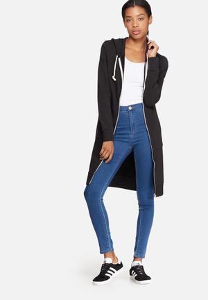 Jane long zip hooded sweat