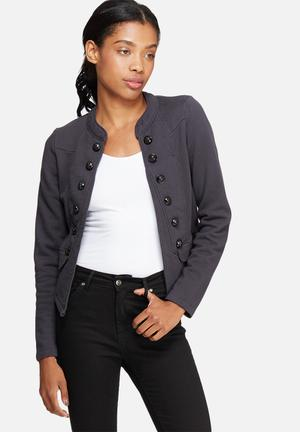 ONLY New Anette Blazer Jackets Charcoal