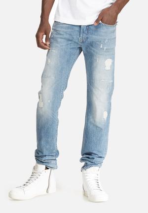 Diesel  Buster Regular Tapered Jeans Blue