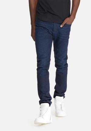Diesel  Tepphar Slim Tapered Jeans Blue