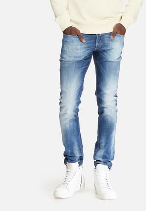 Diesel  Sleenker Skinny Jeans Blue