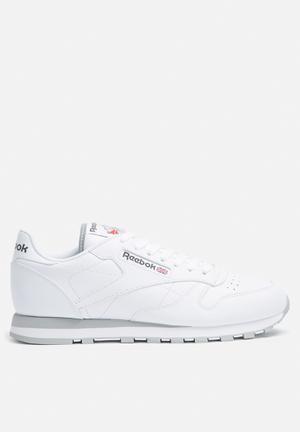 Reebok Club Classic Leather Foundation Sneakers Internation White / Light Grey