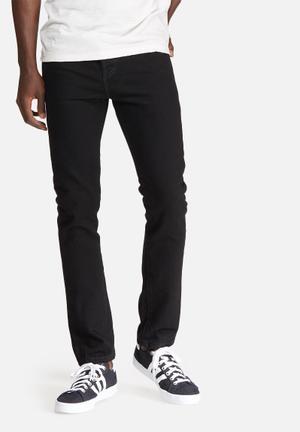 Levi's® 501 Skinny Jeans Black