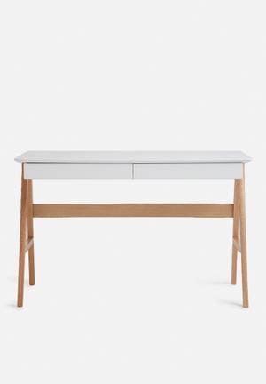 Eleven Past A Frame Desk Wood