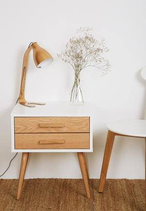 Eleven Past Oak Pedestal Desks & Tables Wood