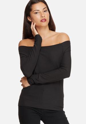 Vero Moda Infi Top T-Shirts, Vests & Camis Black