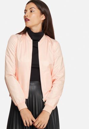 Noisy May New Shiny Jacket Peach