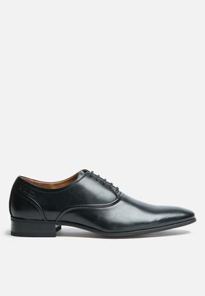 Gino Paoli Sanchez Oxford Formal Shoes Black