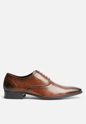 Gino Paoli Sanchez Oxford Formal Shoes Tan