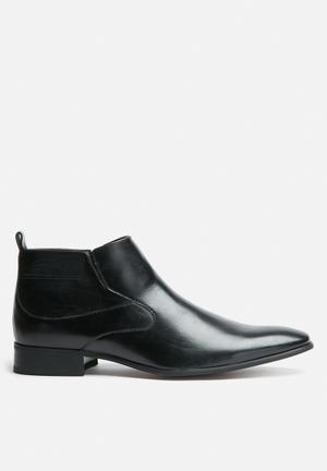 Gino Paoli Glen Boot Formal Shoes Black