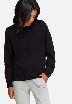 Jacqueline De Yong Marianne Pullover Knitwear Black