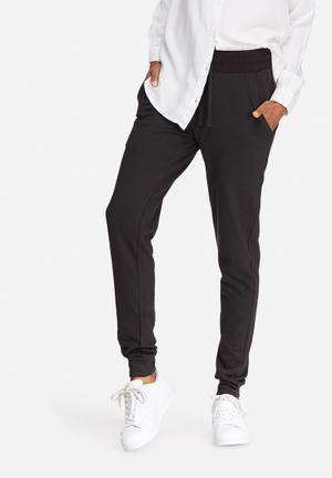Jacqueline De Yong Lexus Sweat Pants Bottoms Black