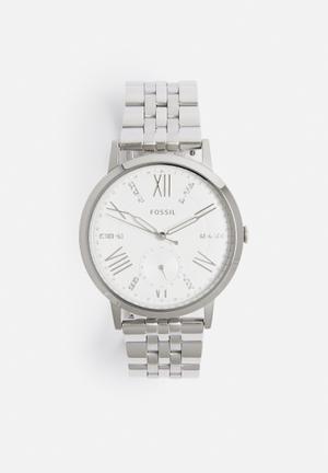 Fossil Gazer Watches Silver