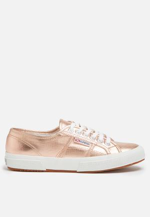 SUPERGA Superga 2750 Cotmetu Metallic Foil Sneakers Rose Gold