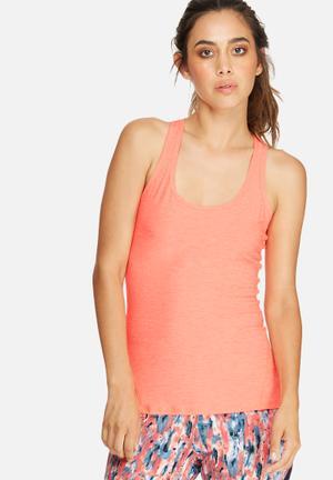 Southbeach  Active Vest T-Shirts Neon Orange