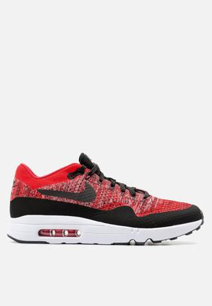 Nike Air Max 1 Ultra 2.0 Flyknit Sneakers University Red / Black