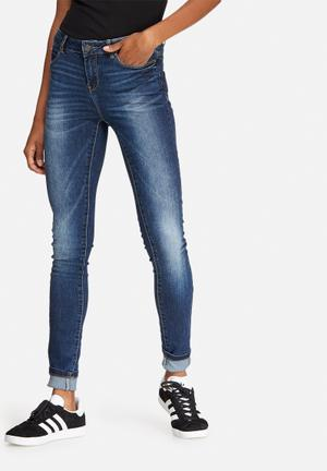 Vero Moda Seven Slim Eye Jeans Blue