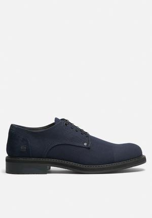 G-Star RAW Core Denim Formal Shoes Navy