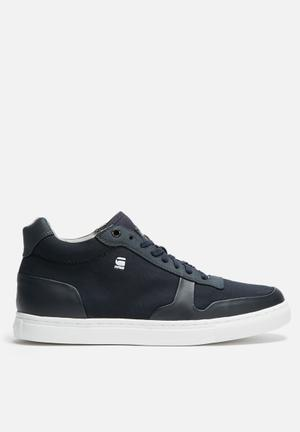 G-Star RAW Krosan Mid Sneakers Navy