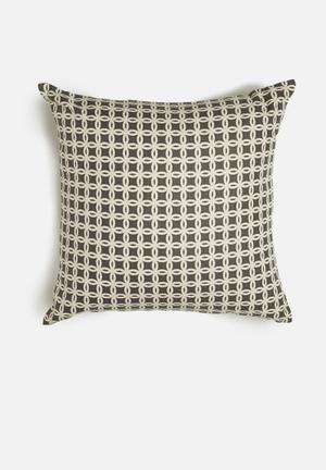 Sixth Floor Puzzle Granite Cushion