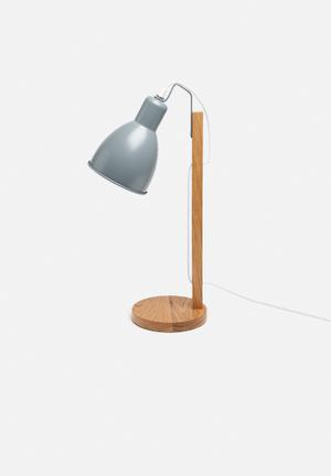 Sixth Floor Emile Table Lamp Lighting Wood & Metal