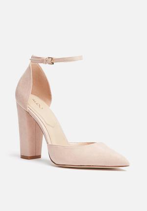ALDO Nicholes Heels Blush Pink