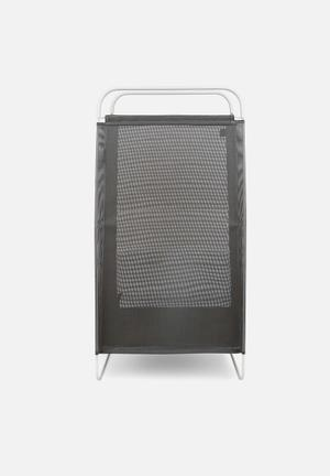 Umbra Cinch Laundry Hamper Organisers & Storage Steel Wire Frame With Removable Mesh Bag