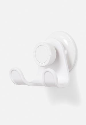 Umbra Flex Gel Lock Double Hook Bath Accessories ABS & Silicone