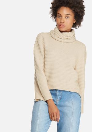 Texas roll neck sweater