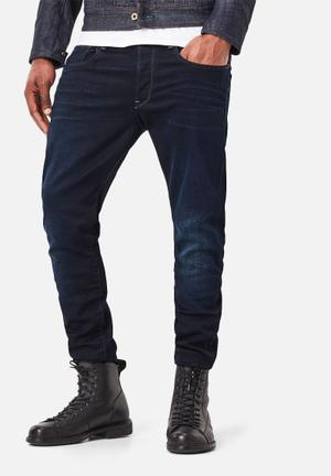 G-Star RAW 3301 Tapered Jeans Dark Indigo