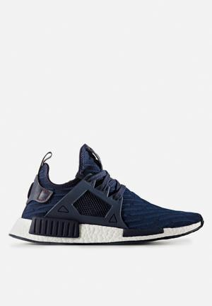 Adidas Originals NMD_XR1 Primeknit Sneakers Collegiate Navy / Red