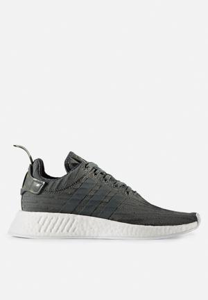 Adidas Originals NMD_R2 Sneakers  Utility Ivy / White / Trace Green
