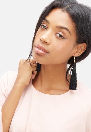 Pichulik Tassel Earrings Jewellery Black