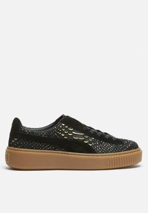PUMA Puma Platform Exot Skin Sneakers Black / Gum