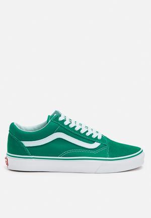 Vans Old Skool S&C Sneakers Ultramarine Green / True White
