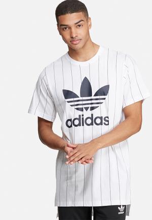 Adidas Originals NMD Tee T-Shirts White & Black