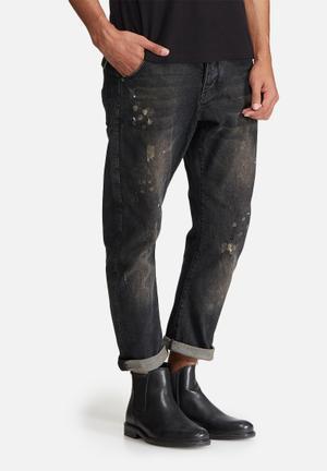 Sergeant Pepper Arc Rigid Drop Croth Jeans Black