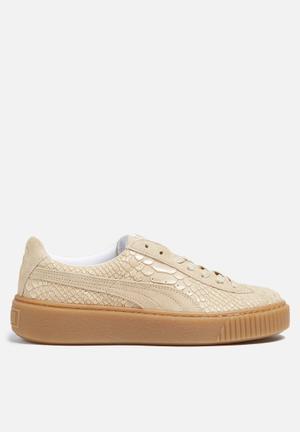 PUMA Puma Platform Exot Skin Sneakers Vachetta / Gum
