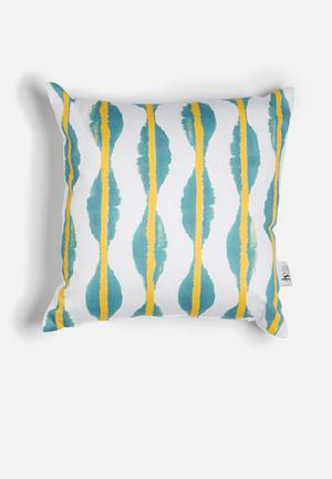 Sixth Floor Ikat Printed Cushion Cotton Twill
