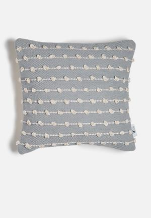 Sixth Floor Dotty Knotted Cushion Cover 100% Cotton