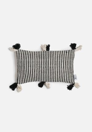 Sixth Floor Tassel Cushion Cover 100% Cotton