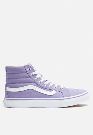 Vans SK8-Hi Slim Sneakers Lavender / True White