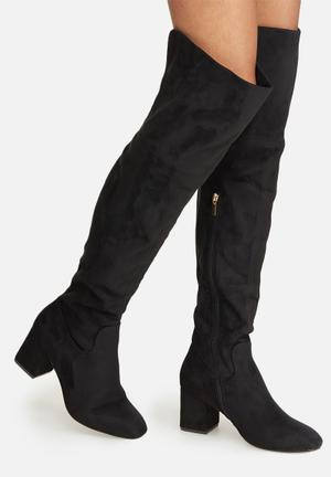 Dailyfriday Over The Knee Boot Black
