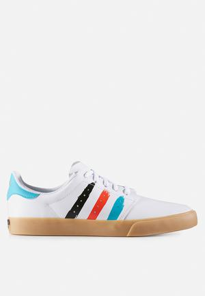 Adidas Originals Seeley Court Sneakers FTWR White / Energy Blue S17 / Energy S17