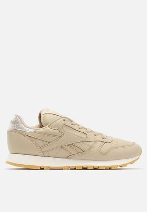 Reebok Classic Leather Sneakers Oatmeal / Gum