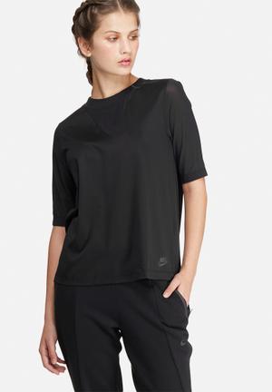 Nike Bonded Top T-Shirts Black