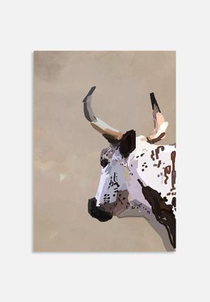 Sarah Allderman Cow Art