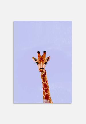 Sarah Allderman Giraffe Art